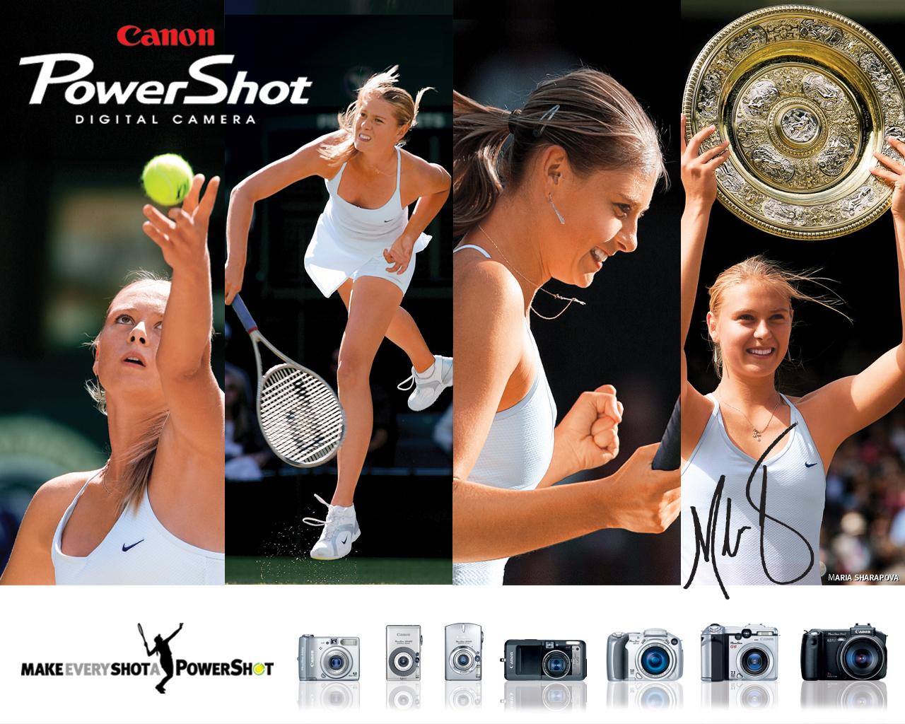 Maria Sharapova Teams Up With Canon - Canon Commercials