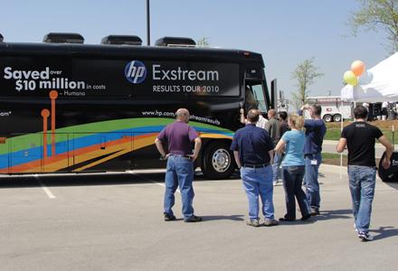 HP Exstream Tour