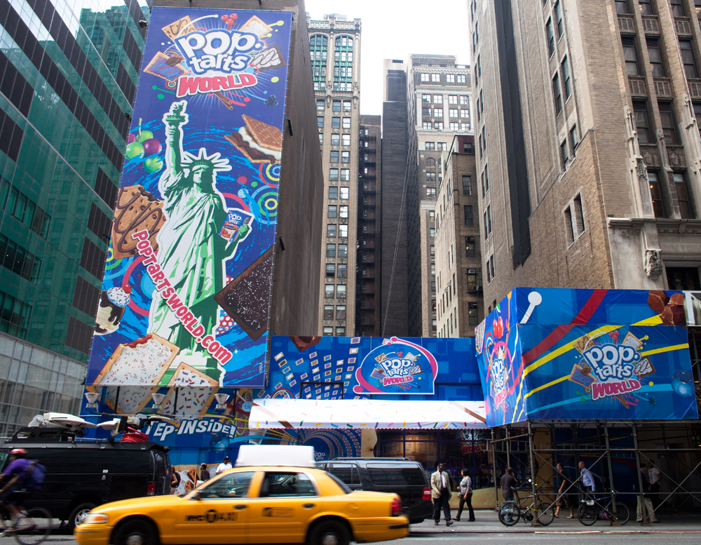 Exterior_large Pop-Tarts World In Times Square 2010