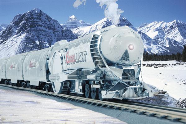 Coors Light Train