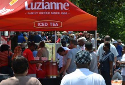 Luzianne Tea Brews Sampling Tour