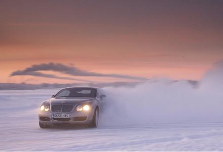 Bentley Drivers Winter Adventure