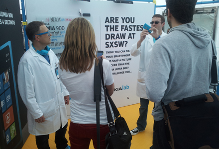 Nokia Lab Builds Laboratory At SXSW