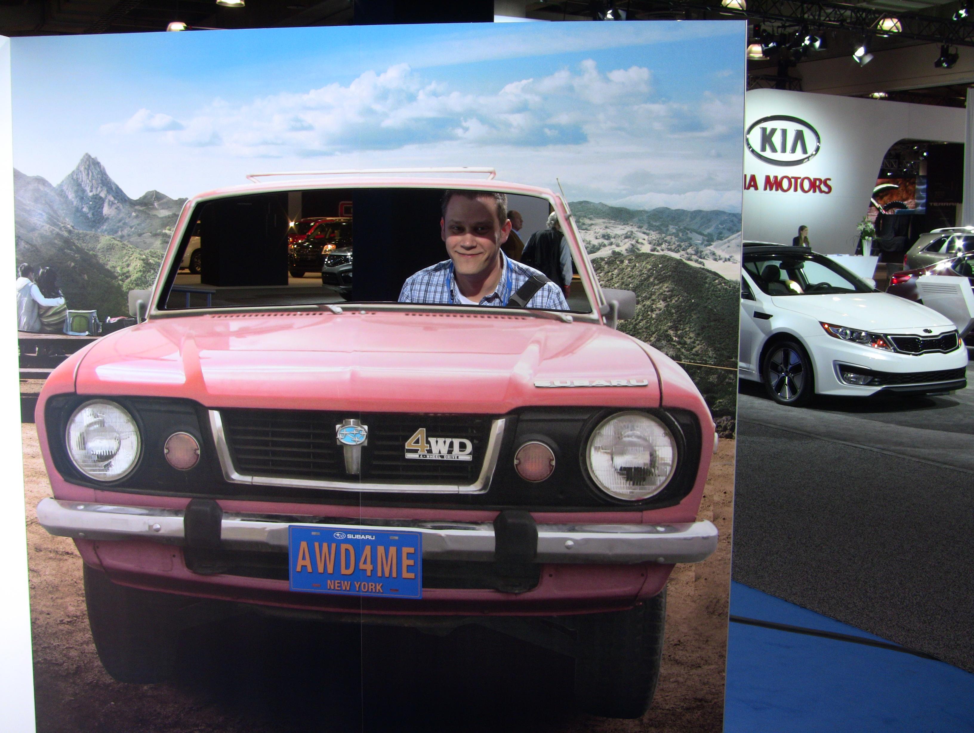 Subaru NYIAS 2012
