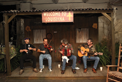 """History """"Swamp People"""" Band in NY"""