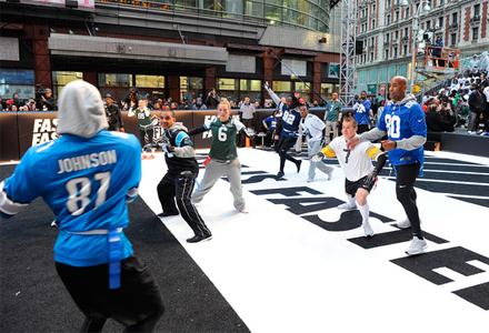 Nike's Broadway Bowl Celebrates NFL Draft
