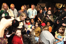 """History """"Swamp People"""" Visits Schools in NY"""