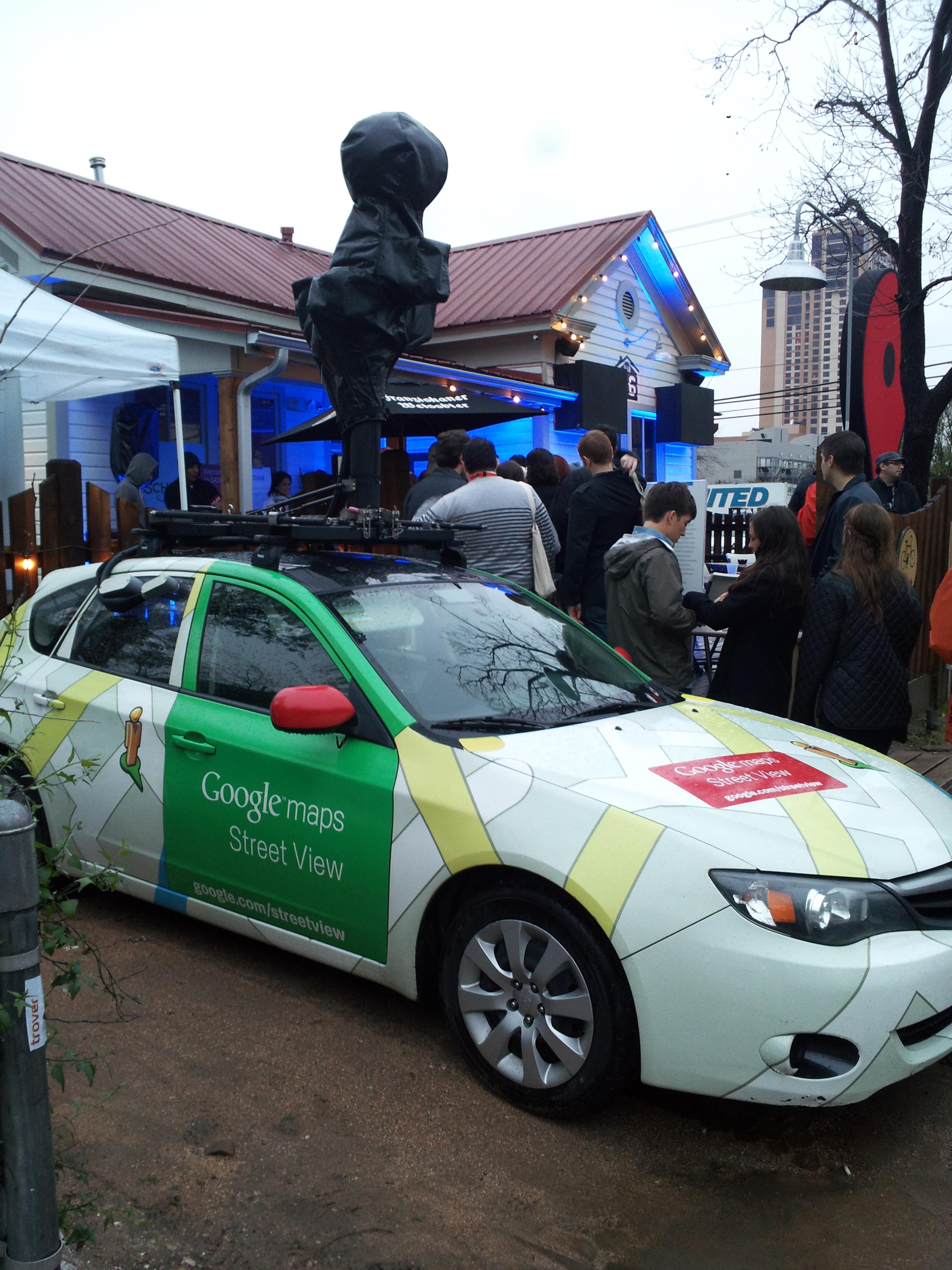Google Maps SXSW 2012