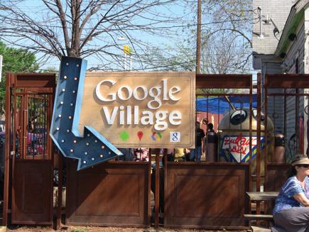 Google Village SXSW 2012