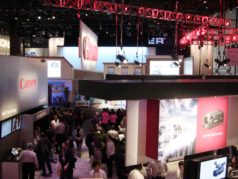 Canon Booth 2014