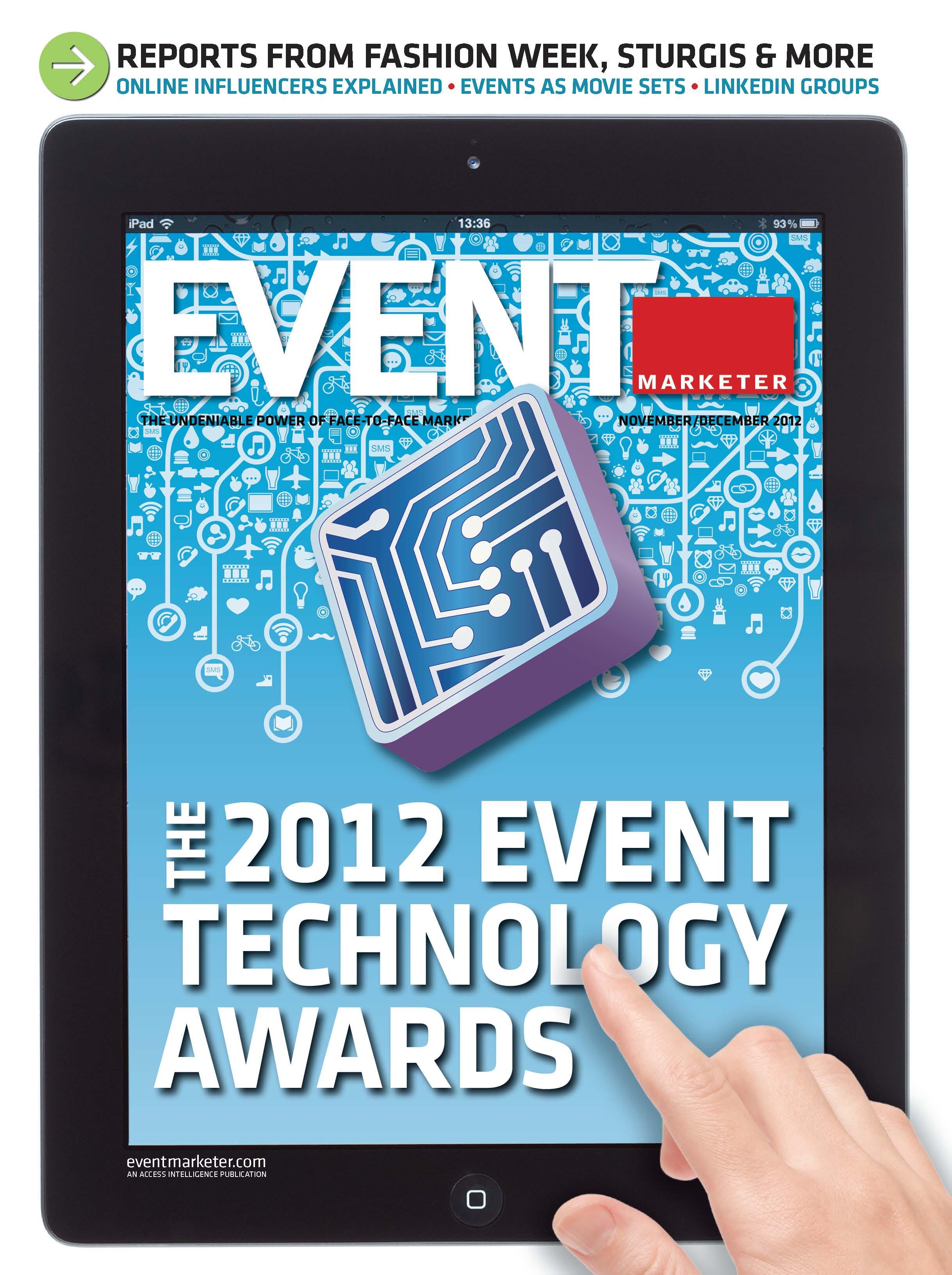 Event Marketer November 2012 Cover