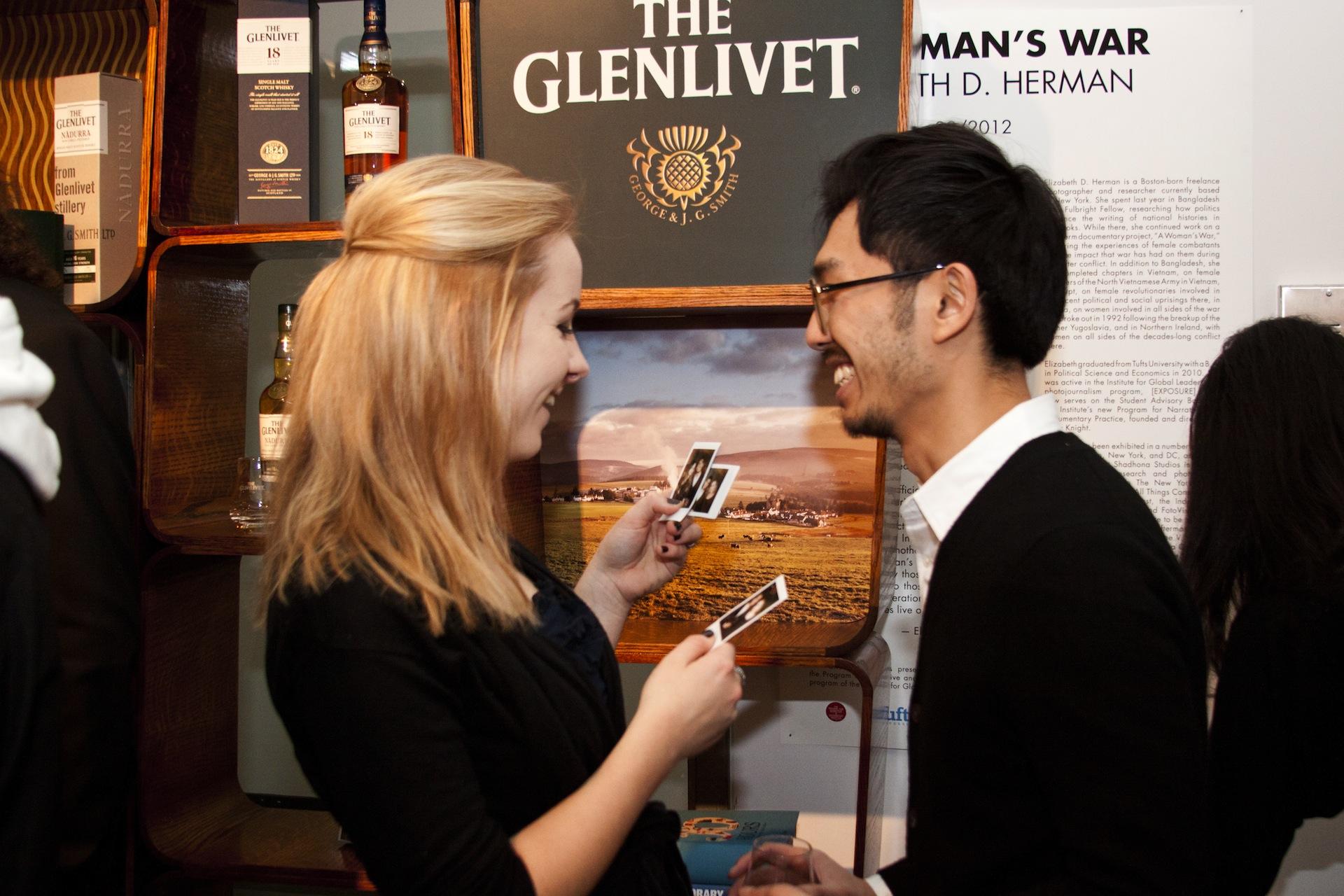 Glenlivet Scotch and Photography