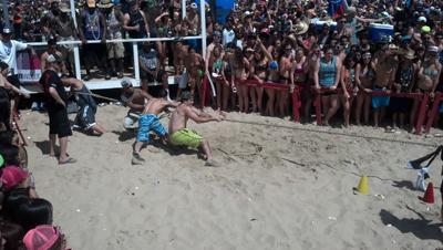 Sand Tug-a-War