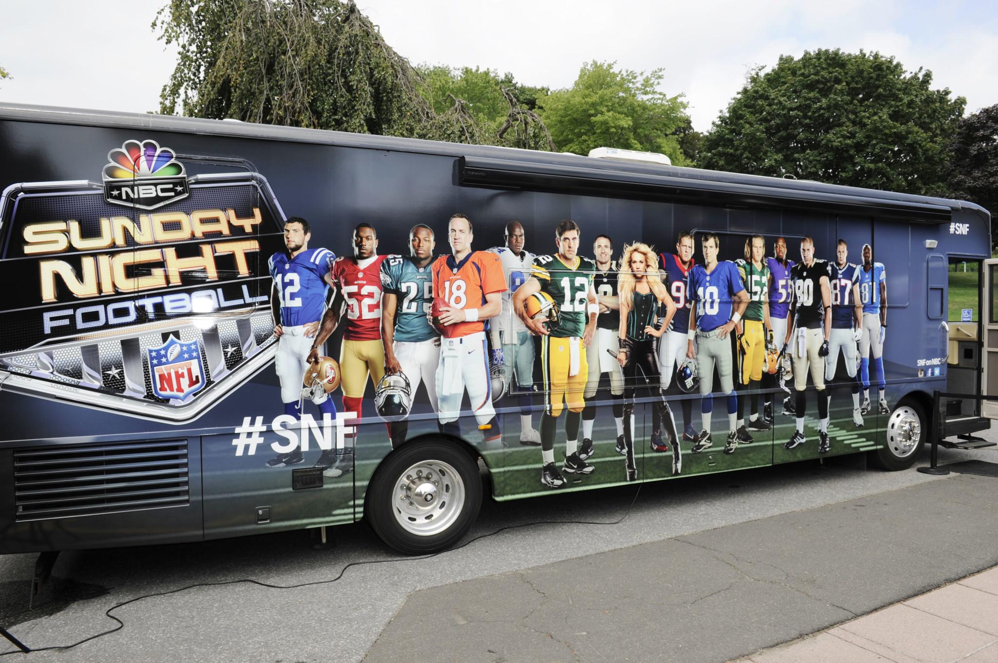 Inside NBC's Sunday Night Football Tour