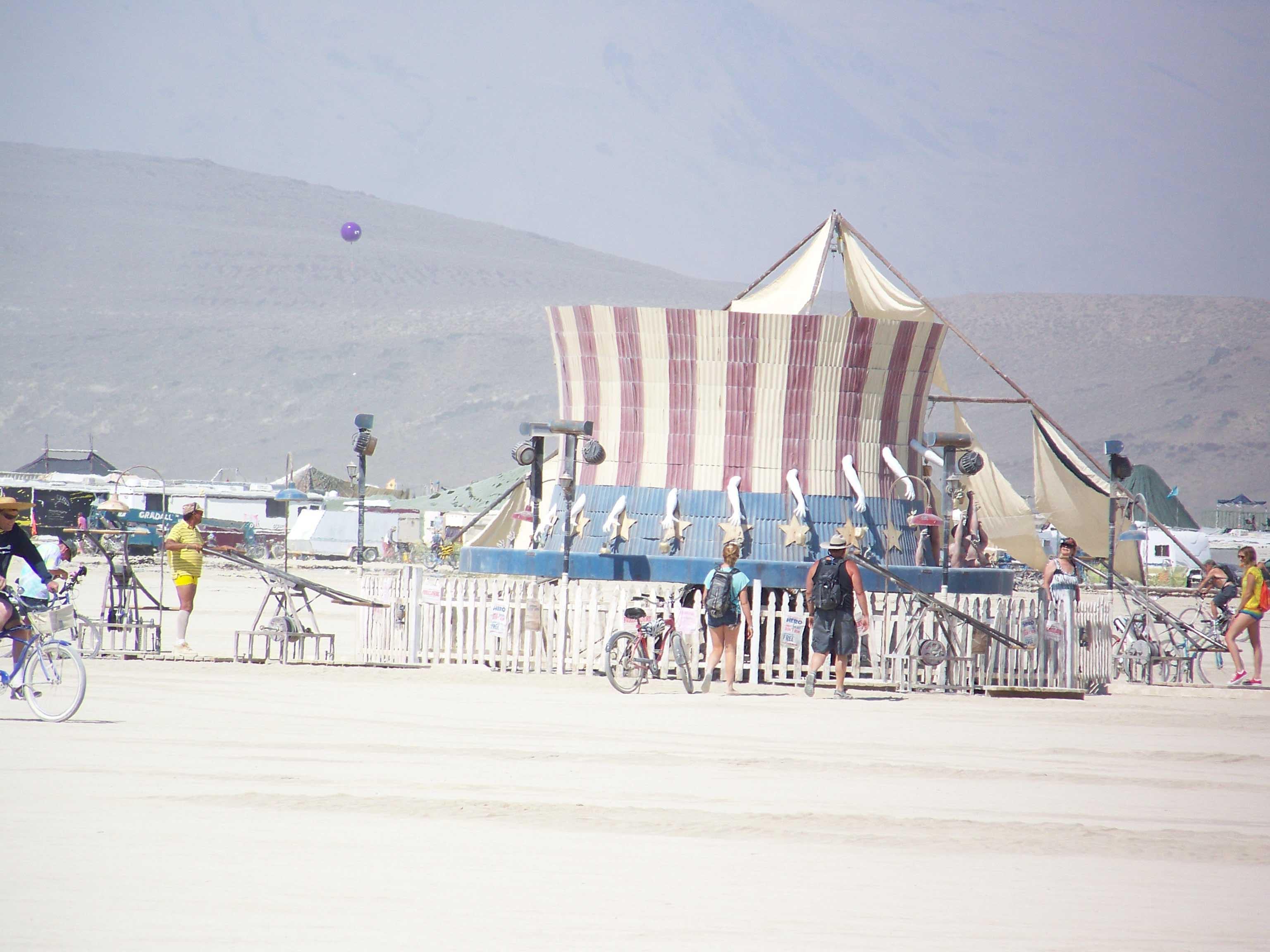 Burningman Desert 2013