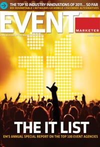 Event Marketer August 2011