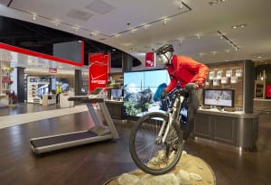 Get Fit: The latest health and fitness accessories energize this interactive fitness zone.