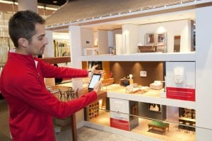 Home and On the Go: This tiny house is big on engagement as it teaches customers about home management technology.