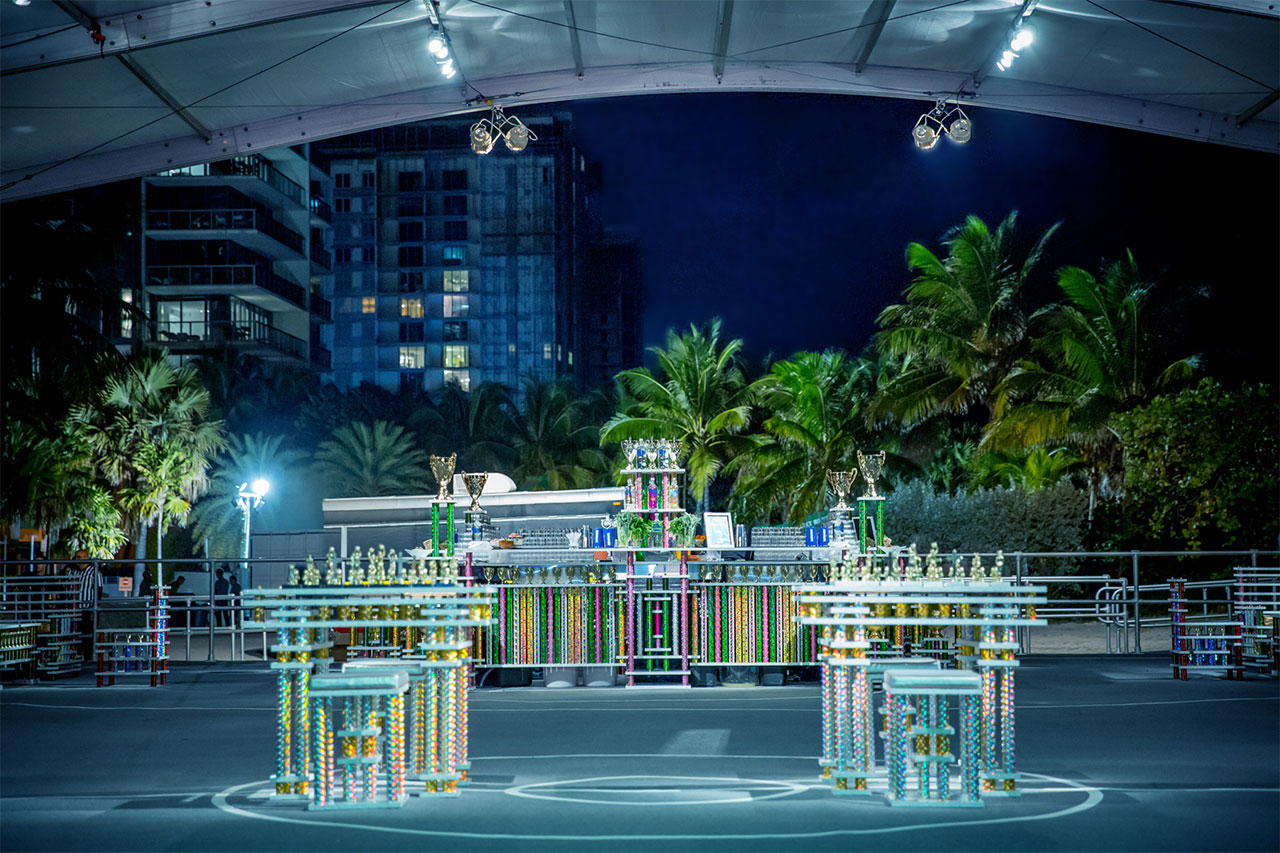 Absolut Art Basel Court Wide - Miami 2013