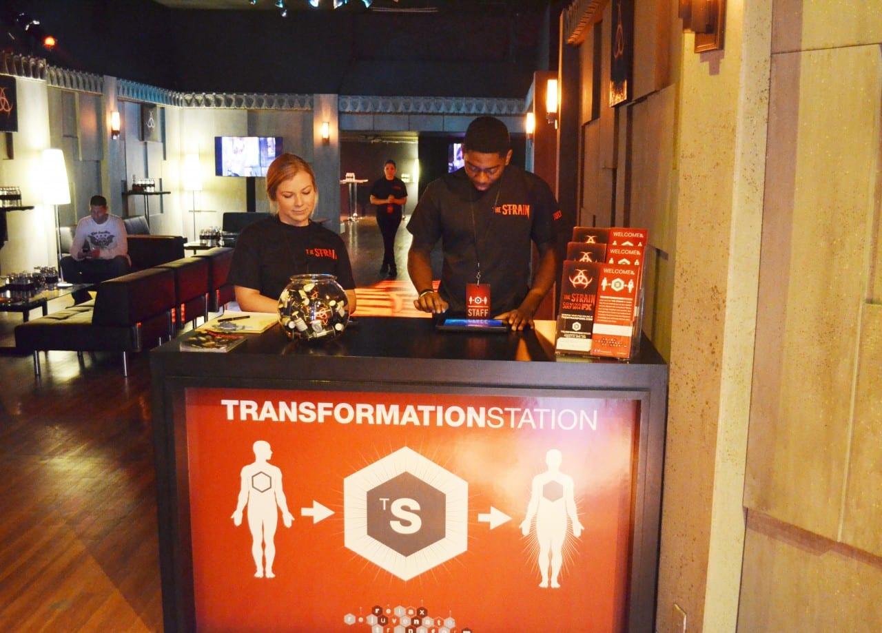 The Strain 2014 Transformation Station