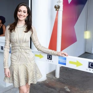 AMERICAN EXPRESS & UBER Launch Party in NYC Hosted by EMMY ROSSUM with a Performance by CHROMEO