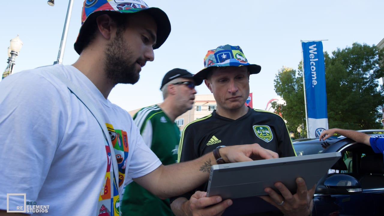 Microsoft Hits The Streets At MLS All-Star Game