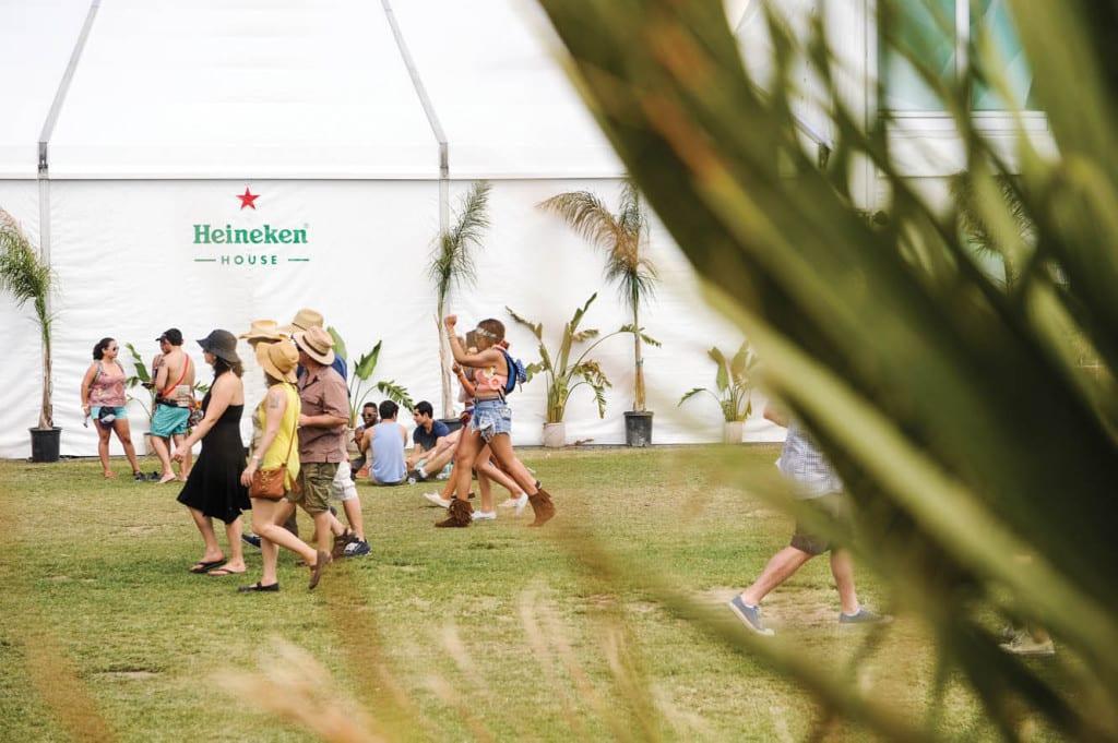 Heineken House at Coachella 2014 - Day 1
