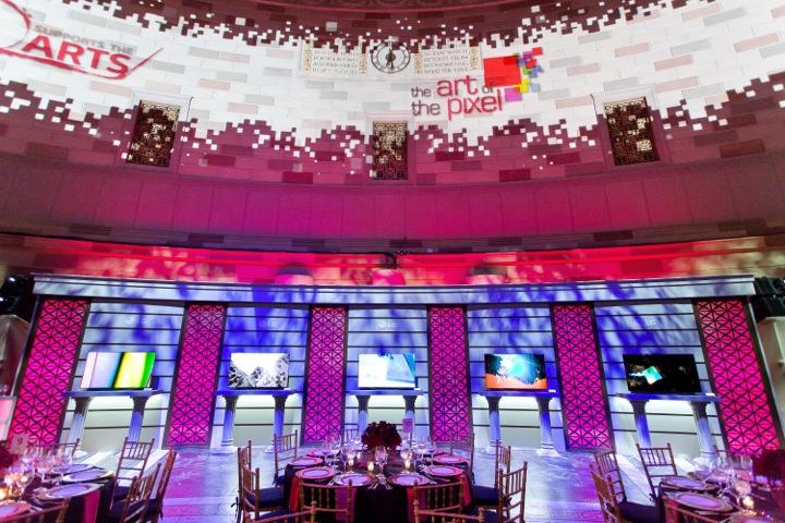 LG Art of the Pixel Gala - Scene 2014