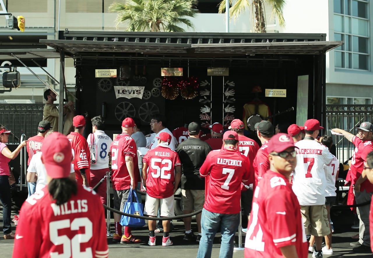 Levis naming rights sponsorship