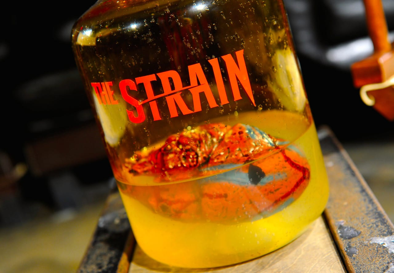 The Strain DVD and Blu-ray release party