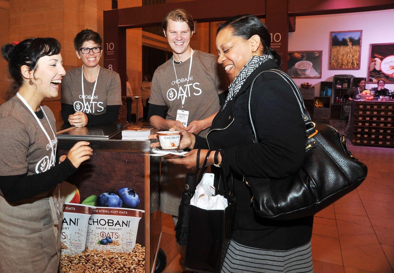 Chobani breakfast campaign