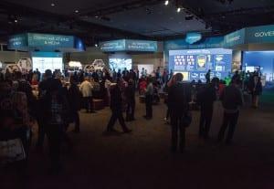 Dreamforce 2014 Trade Show Floor