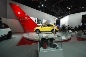 NAIAS 2015 FIAT 500X