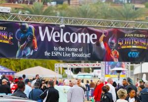 Fan Fest Scotts Mall Entrance 2015