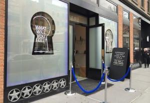 Glade multi-sensory pop-up NY Entrance1