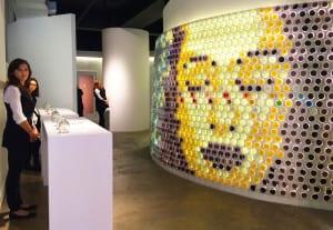 Glade multi-sensory pop-up NY mosaic6