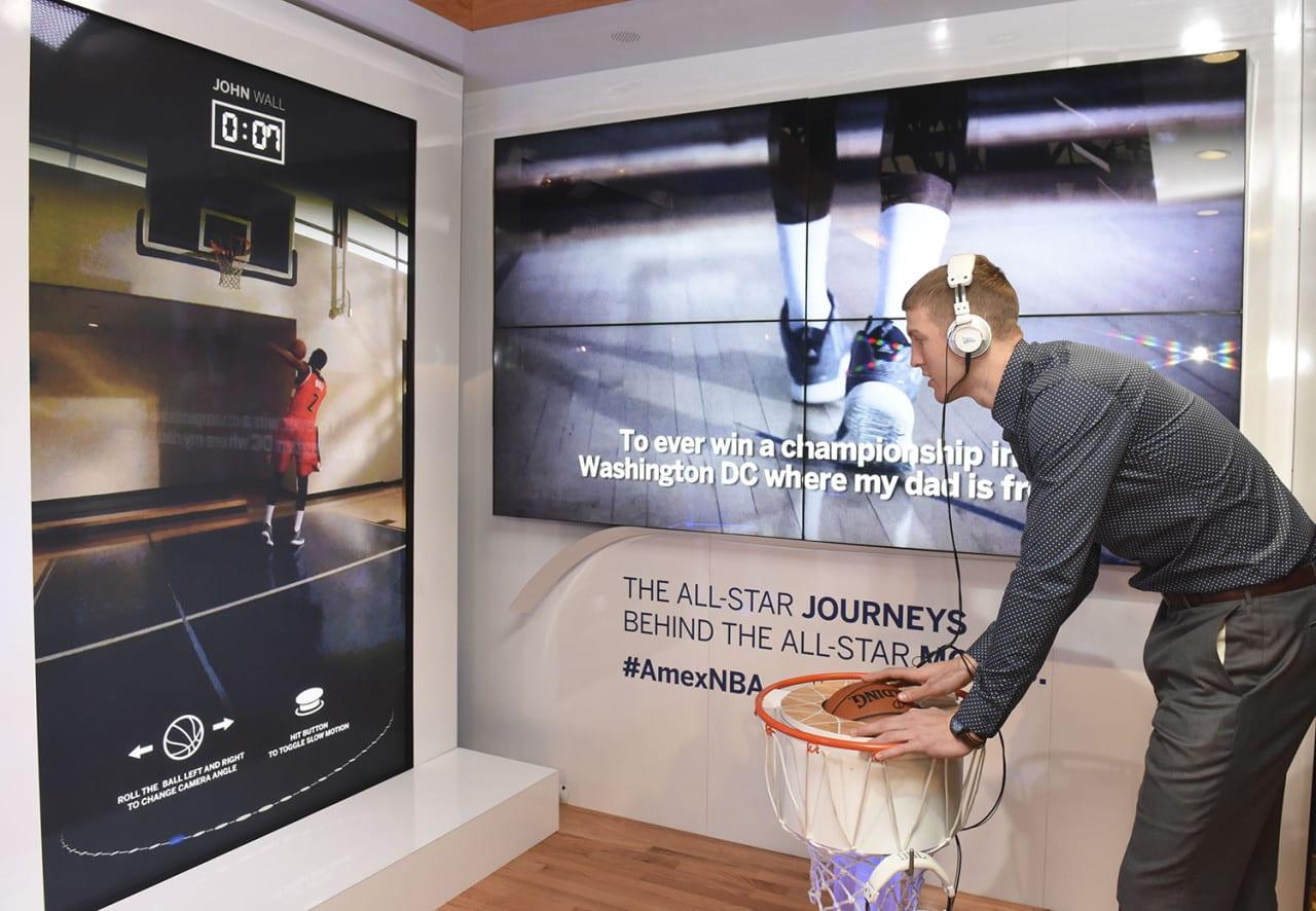 AMEX interactive digital video