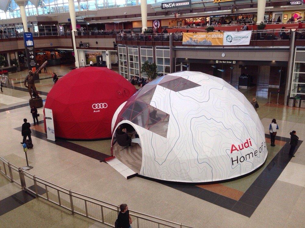 Audi drive simulation