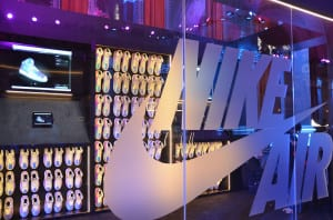 Nike Zoom Arena Display @ NBA All-Star Weekend Zoom City 2015