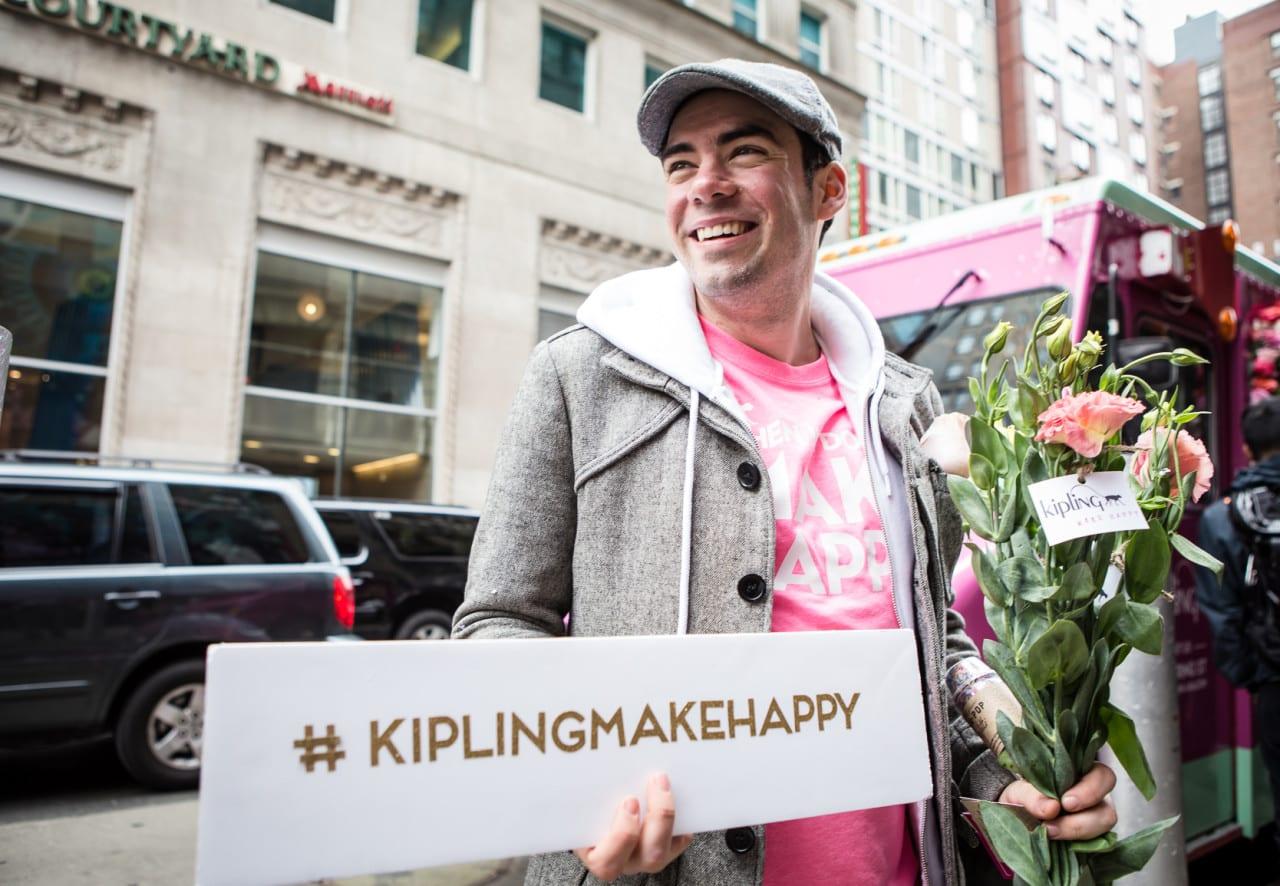 #KiplingMakeHappy in New York City 1