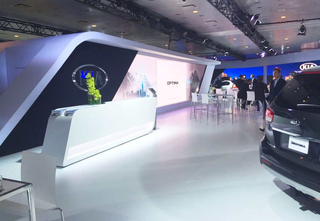 kia booth design