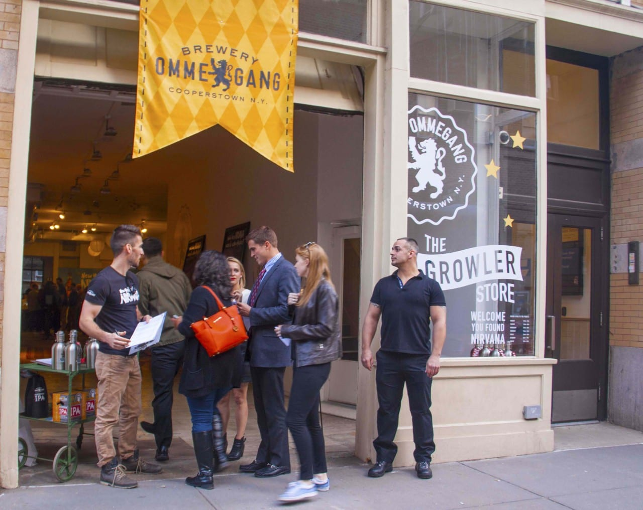 Cooperstown, NY-based Brewery Ommegang Nirvana Popup 2015
