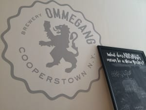 Cooperstown, NY-based Brewery Ommegang Wall Art 2015