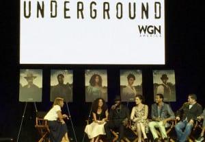 "2015 Essence Festival - WGN America's new show ""Underground"""