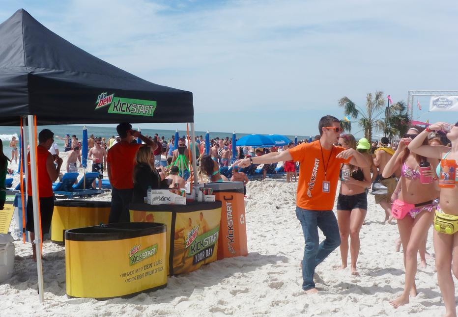 beach activations