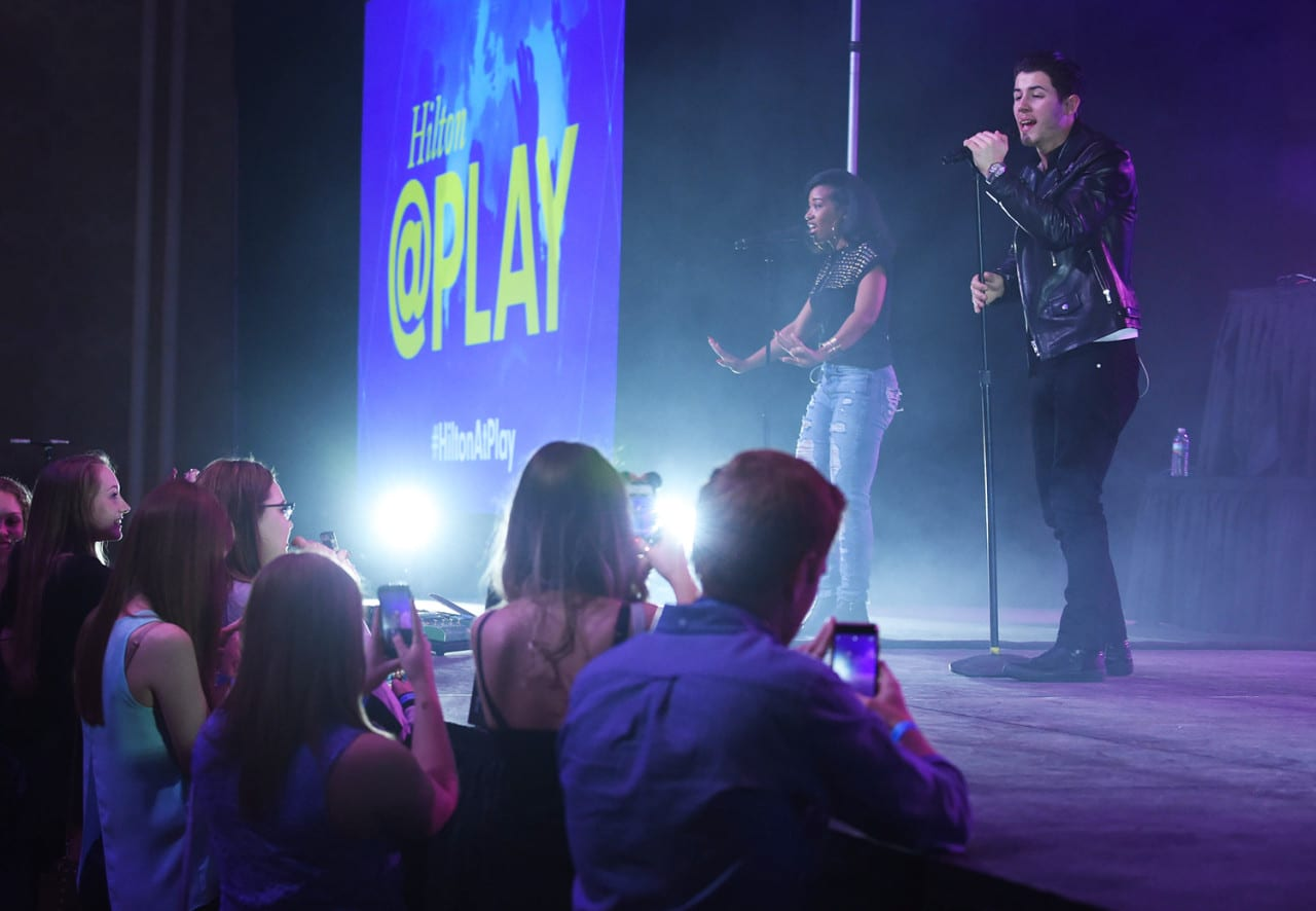 Capitalizing on concert event content