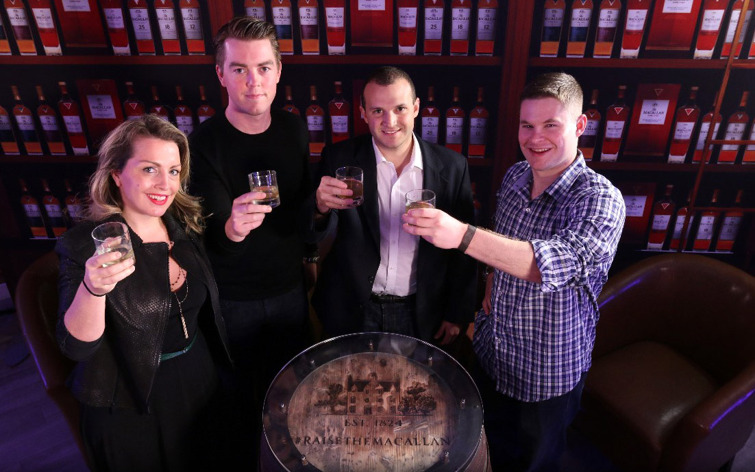 "Six new engagement strategies in ""Raise the Macallan"" events."