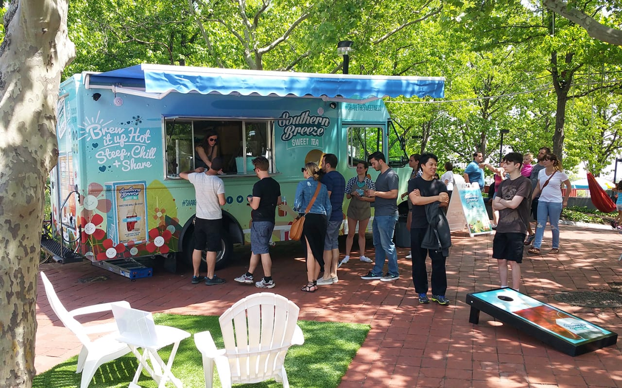 Southern Breeze Sweet Tea Launches Mobile Tour