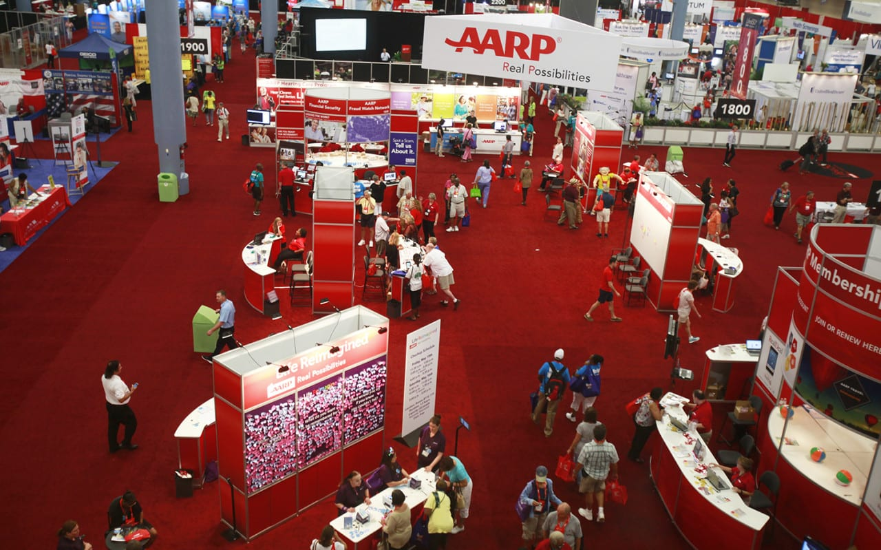 Content Sharing Strategies from AARP Events