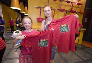 Friskies Create and Taste Kitchen Branded T-shirts 2015